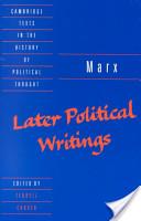 marx-later-writings